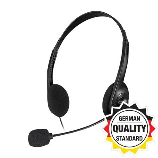 Picture of Slušalice sa mikrofonom SPEEDLINK ACCORDO Stereo, black, SL-870003-BK