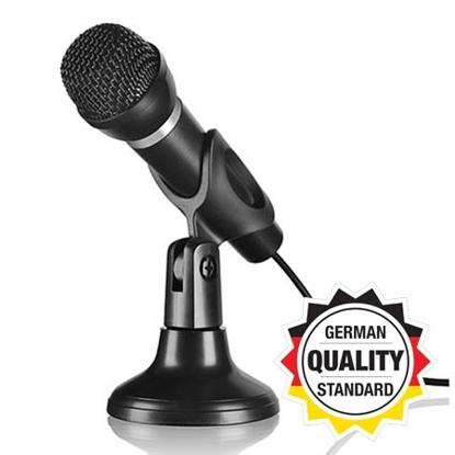 Slika od Mikrofon SPEEDLINK CAPO for Desk & Hand, black, SL-8703-BK