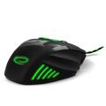 Picture of Miš ESPERANZA GAMING WOLF 7D MX201, green, 2400dpi, double-click, ergonomic, EGM201G
