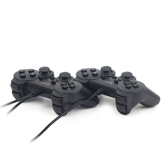Picture of Game Pad GEMBIRD JPD-UDV2-01 Double, vibration, analog, za PC, USB
