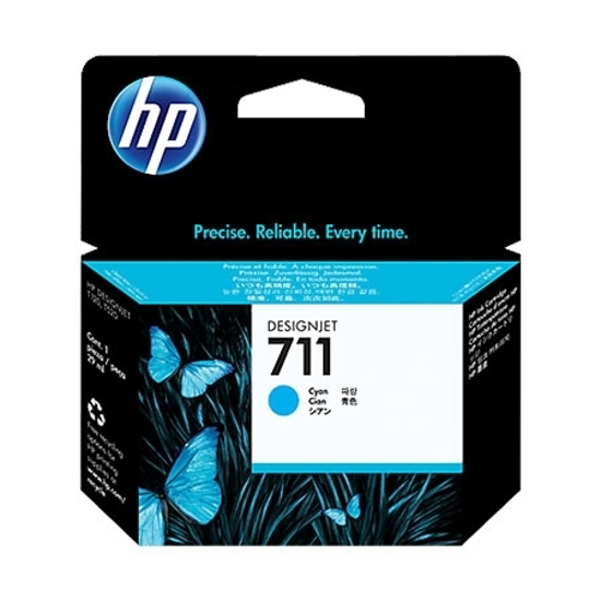 Picture of HP Tinta CZ130A Cyan 711 T120 24-in, T520 24-in, T520 36-in
