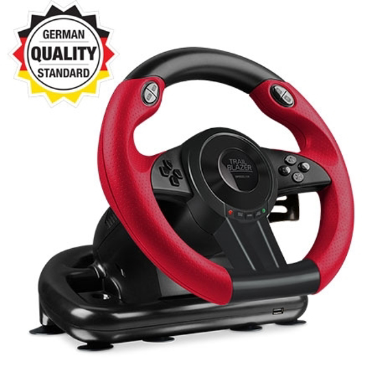 Picture of Volan SPEEDLINK TRAILBLAZER Racing, pedale, za PS4/XboxOne/PS3/PC, black SL-450500-BK