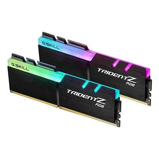 Picture of G.SKILL  16GB(2x8)  F4-3000C16D-16GTZR TRIDENT Z RGB  PC4-24000 / DDR4 3000 Mhz 1.35V