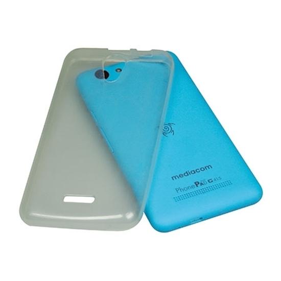 Picture of MEDIACOM M-G415SC silikonska providna zaštitna navlaka za smartphone G415