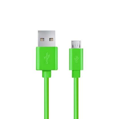 Slika od USB 2,0 kabal A-microB 1,8m, ESPERANZA, white, EB173W