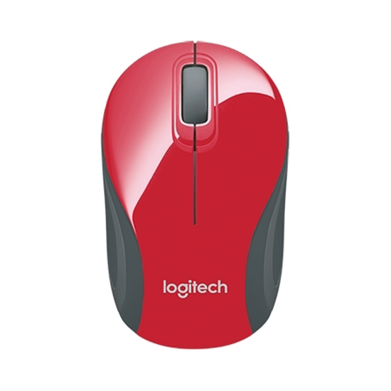 Picture of Miš LOGITECH M187, RED, wireless mini, 910-002742