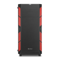 Picture of Kućište SHARKOON gaming, AI7000 Glass Red ATX, 3x 140mm LED