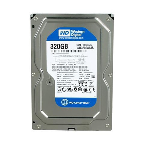 "Picture of HDD 320GB WD3200AAJS-P 3.5"" PULL  SATA2 8MB 7200RPM,"