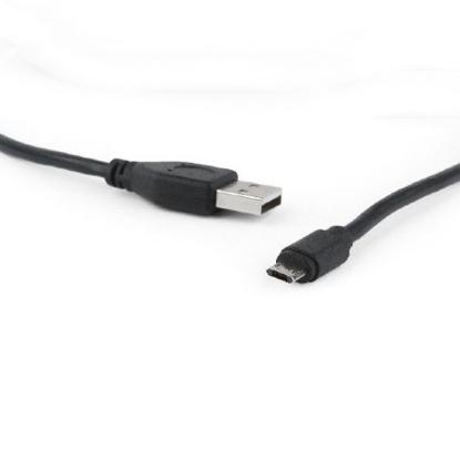 Slika od USB 2,0 kabal 1.8m, dvostrani micro USB konektor, GEMBIRD CCB-USB2-AMmDM-6