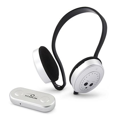 Slika od Slušalice wireless sa postoljem i FM TITANUM SWING, za TV/CD/DVD/MP3/MOB/PC, TH111