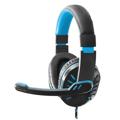 Picture of Slušalice sa mikrofonom ESPERANZA CROW, gaming, blue, volume control, EGH330B