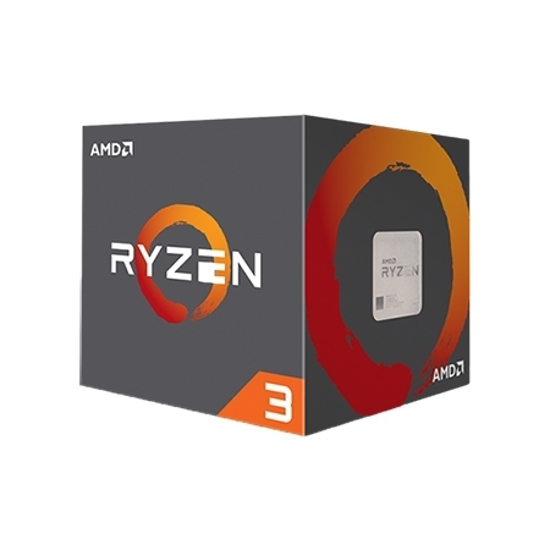 Picture of AMD Ryzen 3 1200 AM4 BOX,4 CPU cores,4 threads,3.1GHz,8MB L3,65W