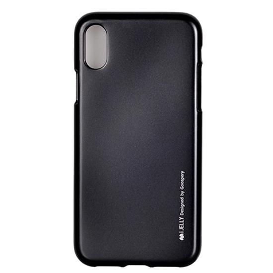 Picture of Zaštitna futrola Mercury i-Jelly metal case iPhone X black