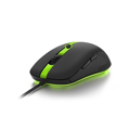 Picture of Miš SHARKOON gaming SHARK Force PRO green, optički, 3200 dpi