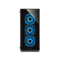 Picture of Kućište SHARKOON gaming, TG5 Full Glass Blue ATX, 4x 120mm LED