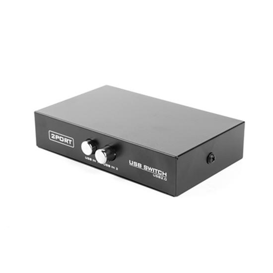 Picture of Manual USB data 2port switch 2>1, GEMBIRD, DSU-21