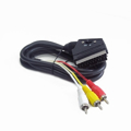 Picture of Bidirectional RCA to SCART audio-video cable, 1.8 m, GEMBIRD CCV-519-001