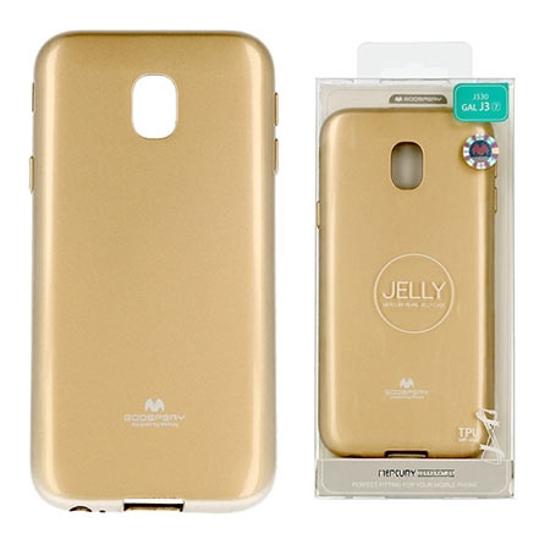 Picture of Zaštitna futrola Mercury Jelly Case J330 GALAXY J3 (2017) GOLD