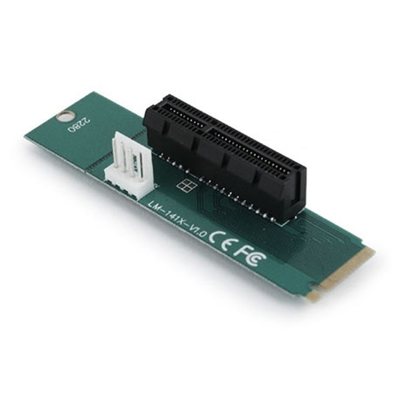 Picture of Adapter PCI-Express to M.2 adapter add-on card, RC-M.2-01, GEMBIRD