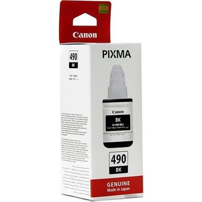 Slika od Tinta Canon GI490BK za printer Canon  G1400, G2400, G3400(0663C001AA)
