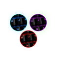 Picture of Tastatura gaming mechanical feel ESPERANZA HUNTER, USB, multicolor illuminated, multimedia, US layout, EGK601