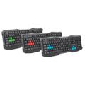 Picture of Tastatura gaming ESPERANZA ROOK, USB, red, US layout, EGK101R