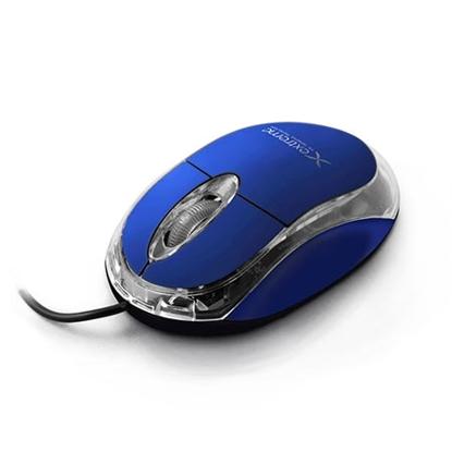 Slika od Miš EXTREME 3D, illuminated, USB, Optical, 1000dpi, blue, XM102B