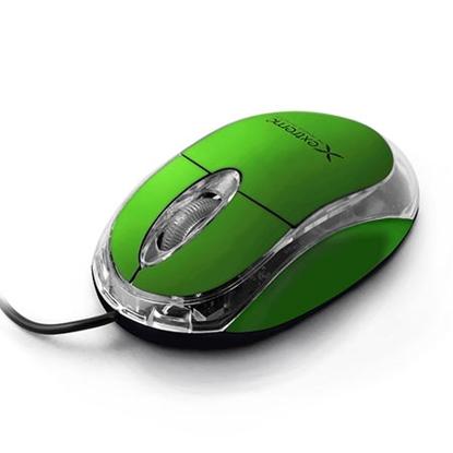 Slika od Miš EXTREME 3D, illuminated, USB, Optical, 1000dpi, green, XM102G