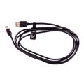 Picture of USB 2,0 kabl ESPERANZA, USB-A to USB type-C, 2m, BLACK, EB227K