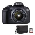 Picture of Fotoaparat CANON EOS2000D + 18-55 IS+ Torbica SB130+16GB MicroSD  bundle