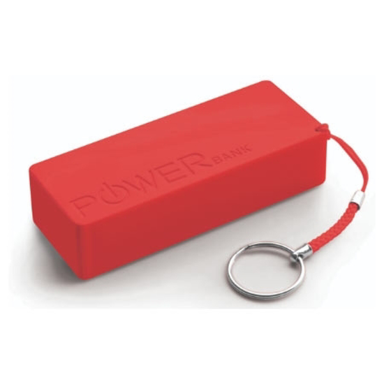 Picture of PowerBank EXTREME QUARK XL, 5000 mAh red, XMP102R