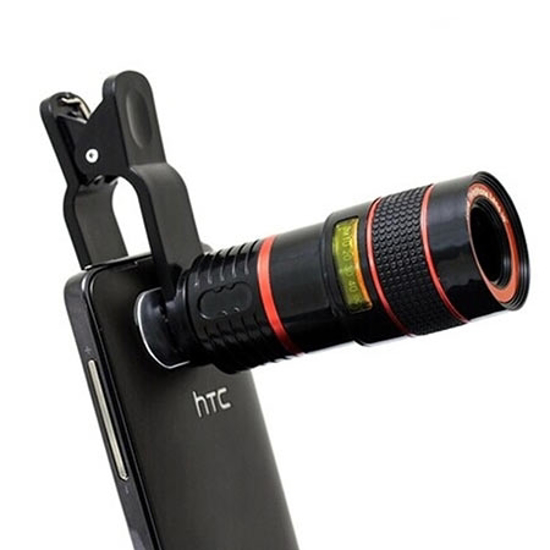 Picture of Optical zoom lens za mobitel 12X clip on, GEMBIRD TA-ZL12X-01