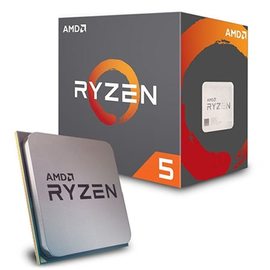 Picture of CPU AMD Ryzen 5 2600 AM4 BOX,6 cores,12 threads,3.4GHz,16MB L3,65W