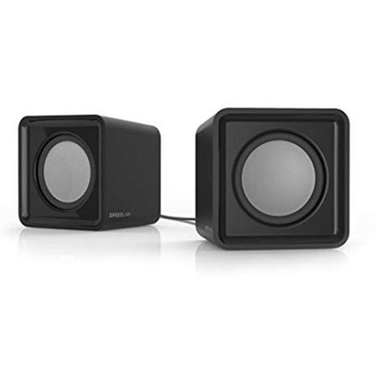Picture of Zvučnici 2.0 SPEEDLINK TWOXO Stereo, black, SL-810004-BK