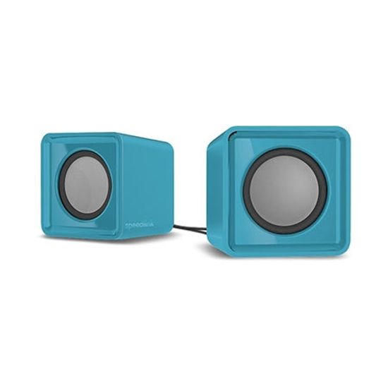 Picture of Zvučnici 2.0 SPEEDLINK TWOXO Stereo, turquoise, SL-810004-TE