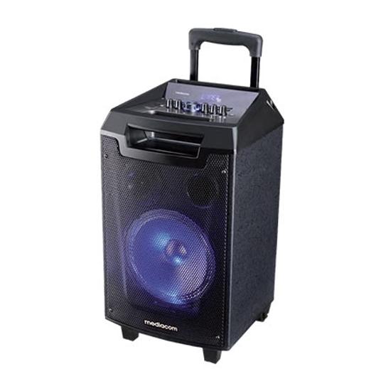 Picture of MEDIACOM MusicBox 90W bluetooth karaoke sa mikrofonom M-TRSPX9S