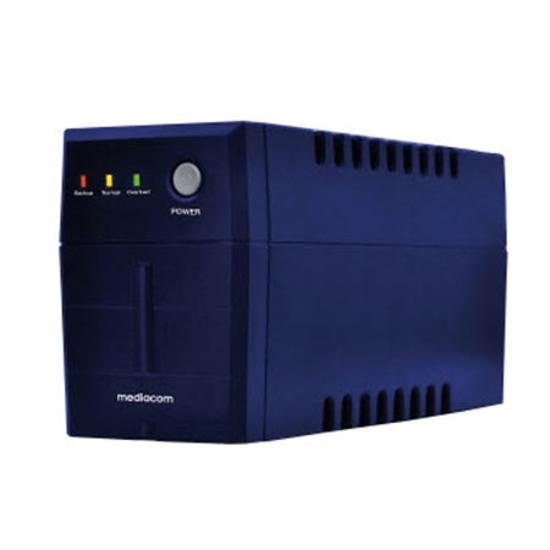 Picture of MEDIACOM UPS ME-UPS851D 800 VA Blue