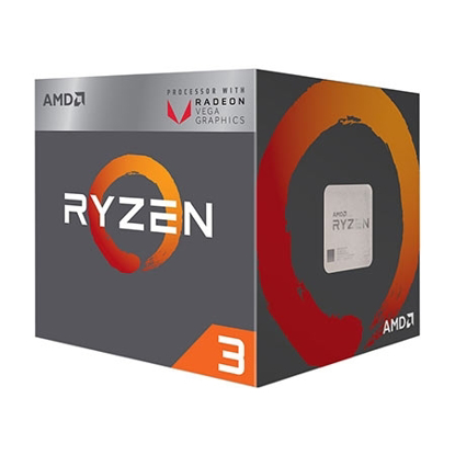 Slika od AMD RYZEN 3 2200G AM4 BOX 4 CPU CORES,4 THREADS,3.5GHZ, 4MB L3,65W,RADEON VEGA 8