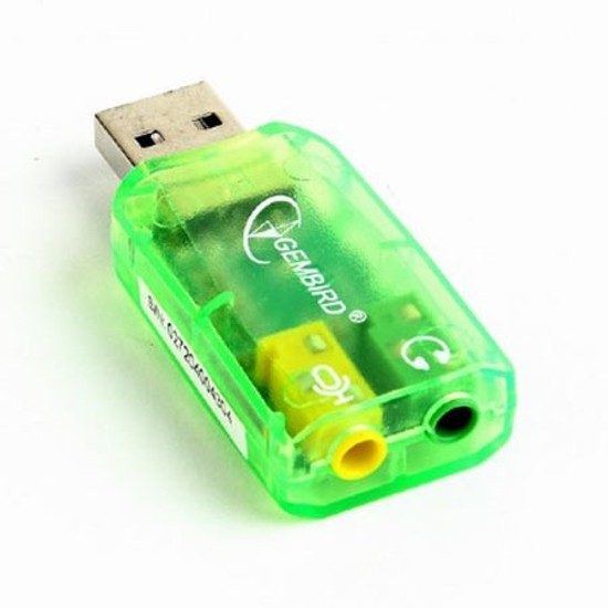 Picture of Zvučna kartica GEMBIRD, Virtus, USB 2.0, SC-USB-01