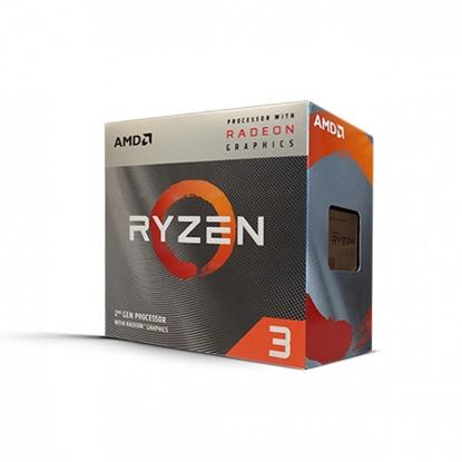 Slika od AMD RYZEN 3 3200G AM4 BOX 4 CPU cores,4 threads, 3.6GHz,4MB L3,65W,Radeon Vega 8