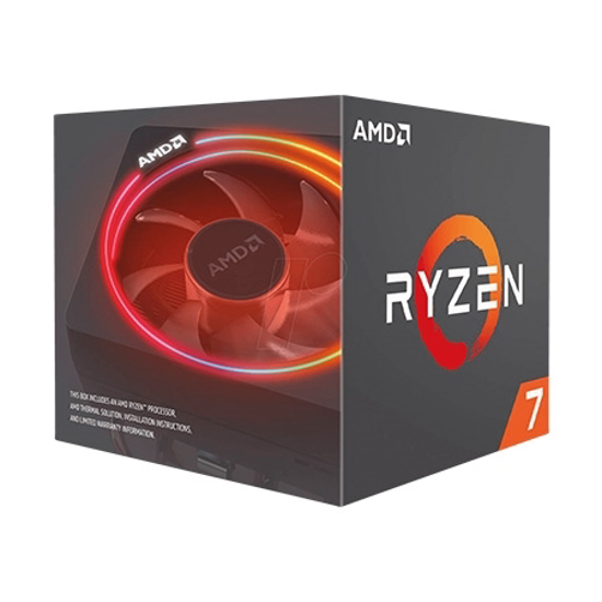 Picture of CPU AMD RYZEN 7 2700 AM4 BOX 8 cores,16 threads,3.2GHz,16MB L3,65W