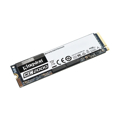 Picture of Kingston SSD 250GB KC2000 M.2, NVMe PCIe Gen 3.0 up to 3,000/1,100 MB/s, SKC2000M8/250G