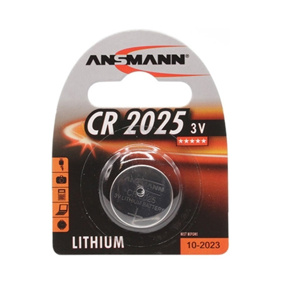 Picture of Baterija ANSMANN CR 2025 3V,AN5020142
