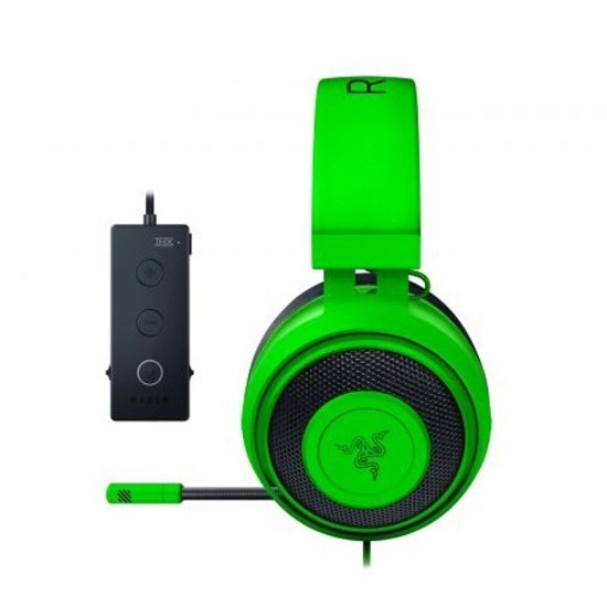 Picture of Slušalice Razer Kraken Tournament Edition - Wired Gaming Headset with USB Audio Controller - Green - FRML Packaging RZ04-02051100-R3M1