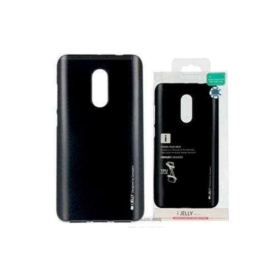 Picture of Zaštitna futrola Mercury i-Jelly metal case Xiaomi REDMI NOTE 4/4X BLACK