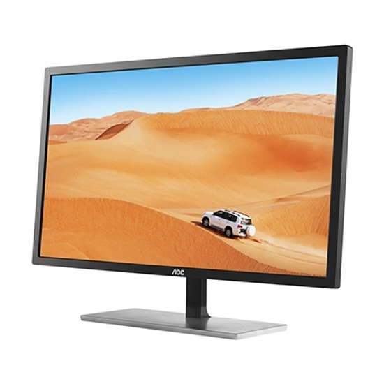 Picture of Monitor AOC Q3279VWFD8 LED Monitor, Free-Sync, (2560 x 1440),IPS Panel, 60Hz, 5ms, VGA, DVI, DP, HDMI
