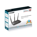 Picture of WAN ROUTER D-LINK DIR-809/E,1*WAN 10/100 4*LAN 10/100,AC750(300+433Mbps),DUAL BAND 2,4GHz+5GHz