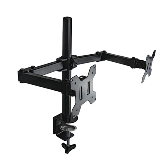 "Picture of NOSAČ ZA DVA MONITORA GEMBIRD MA-DF2-01, (tilting), 13""-27"", up to 7 kg"