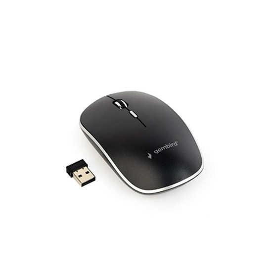 Picture of Miš GEMBIRD MUSW-4B-01, wireless , optical, black, up to 1600 dpi