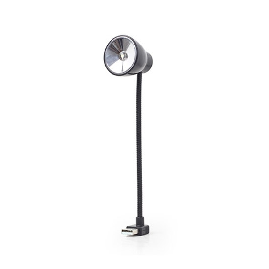 Picture of LED lampa za notebook GEMBIRD, USB notebook LED light, black, NL-02